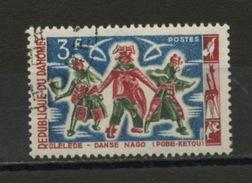 DAHOMEY : DANSE -  N° Yvert  206 Obli