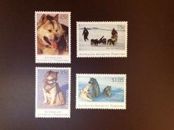 Australian Antarctic Territory 1994 Huskies Dogs MNH