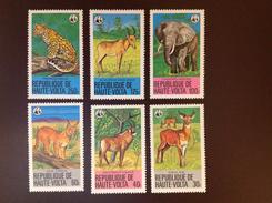 Upper Volta 1979 Animals MNH