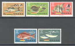 Ghana 1966 - Michel 261 - 265 **