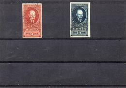 Russie 1925/27 - éffigie  De Lénine  YT 336c /37c ND Obl