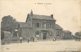 - Pas De Calais - Ref-A745 - Bruay La Buissiere  - La Gare - Gares - Carte Bon Etat - - Frankreich