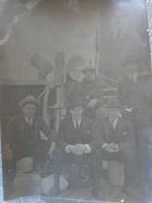 PAQUEBOT HOEDIC  PHOTO  BIS PASSAGERS  ET  EN PLUS CADEAU CUISINIERS A BORD TIRAGE TRES CLAIR - Barche