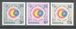 Ghana 1964 - Michel 170 - 172 **