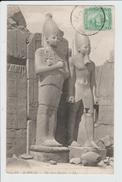 KARNAK - EGYPTE - THE NEW STATUES