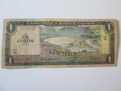 El Salvador 1 Colon 1977 - Salvador