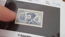 LOT 344369 TIMBRE DE FRANCE NEUF** N°297 VALEUR 190 EUROS