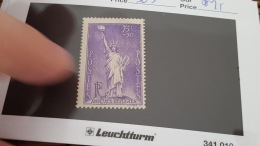 LOT 344374 TIMBRE DE FRANCE NEUF** N°309 VALEUR 25 EUROS