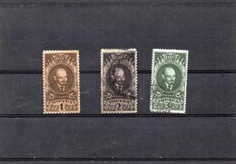 Russie 1926 - Effigie De Lénine   YT 354/56 Obl