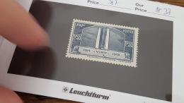 LOT 344378 TIMBRE DE FRANCE NEUF** N°317 VALEUR 37 EUROS
