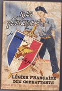 ALMANACH 1942 LEGION FRANÇAISE COMBATTANTS - Livres