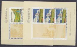 Europa Cept 1983 Azores & Madeira  M/s ** Mnh (35026)