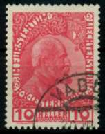 LIECHTENSTEIN 1912 Nr 2y Gestempelt X6F6F36
