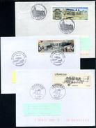 3 VIGNETTES LISA SUR ENVELOPPES - 2010-... Illustrated Franking Labels