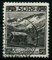 LIECHTENSTEIN 1930 Nr 102-C Gestempelt X70013E