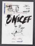 SPAIN 1996 MAXIMUM CARD. 50 ANIV. UNICEF