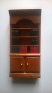 Meuble De Maison De Poupée - Bibliothèque Avec Livres Amovibles - Autres Collections