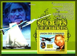 COMOROS COMORES 2009. SCOUTS CELEBRES. AVIATION SAILING.  SS**