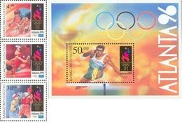 1996 Kazakhstan Kasachstan - Summer Olympic Games, Atlanta - Cycling, Wrestling, Boxing, Hurdling - Summer 1996: Atlanta