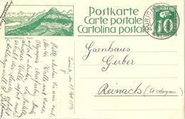 "PK 101  ""Bad Gurnigel / Bern""             1924"