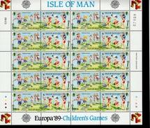 CEPT Kinderspiele Isle Of Man Bogensatz 404-7 MNH ** Postfrisch