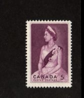 CANADA 1964, # 433,  ROYAL VISIT: QUEEN ELIZABETH 11,   M NH - 1952-.... Règne D'Elizabeth II