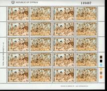 CEPT Kinderspiele Zypern Bogensatz 715 - 718 MNH ** Postfrisch