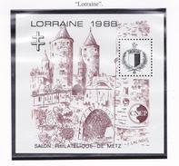 FRANCE 1988 SALON DE METZ 9 MNH