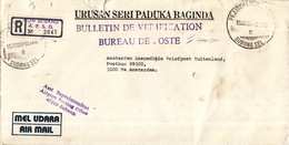 Maleisië - Recommandé/Registered Letter/Einschreiben - Subang A.P.S.O. - Maleisië (1964-...)