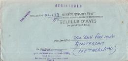India - Recommandé/Registered Letter/Einschreiben - New Delhi - Andere