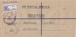 Kenya - Recommandé/Registered Letter/Einschreiben - Kenya - Kenia (1963-...)