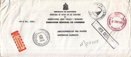 Honduras - Recommandé/Registered Letter/Einschreiben - Tegucigalpa D.C. - Honduras