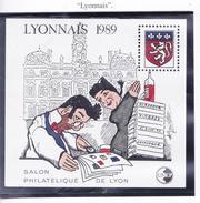 FRANCE 1989 SALON DE LYON CNEP 10 MNH