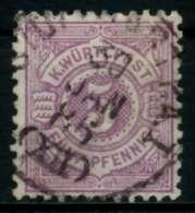 WÜRTTEMBERG Nr 45a Gestempelt X71392A