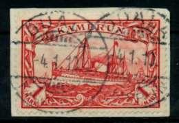 KAMERUN Nr 16 Zentrisch Gestempelt Briefstück Gepr. X713A4A