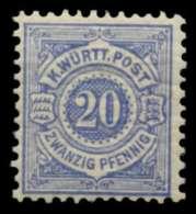 WÜRTTEMBERG Nr 47a Postfrisch X71366E