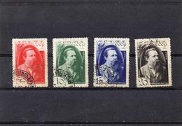 Russie 1935 - 40 Eme Anniv Mort Engels  YT 565/68 Obl
