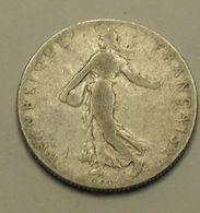 1906 - France - 50 CENTIMES, Semeuse, Argent, Silver, KM 854, Gad 420 - G. 50 Centimes