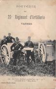 ¤¤   -  VANNES  -  Souvenir Du 28e Régiment D'Artillerie  -  Canon , Matériel  -  ¤¤ - Vannes