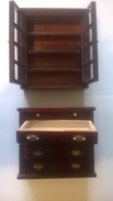 Meuble De Maison De Poupée - Grand Meuble De Salon Séparable - Autres Collections