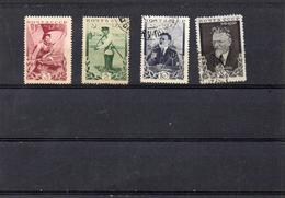 Russie 1935 -60 Eme Anniv Naissance Kalinine   YT 573/76 * Ou  Obl