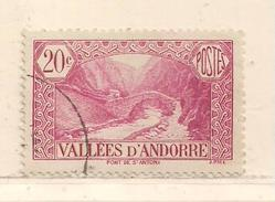 ANDORRE  ( D17 - 10455 )   1932   N° YVERT ET TELLIER  N°  30 - Andorre Français