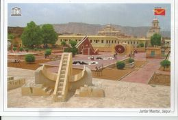 UNESCO World Heritage Site , Jantar Mantar, Jaipur,Architectural Astronomical Instru,World Heritage Monument, India Post