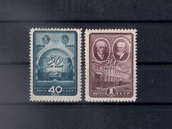 Russia 1948, Michel Nr 1286-87, MLH OG - 1923-1991 USSR