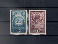 Russia 1948, Michel Nr 1286-87, MLH OG - 1923-1991 URSS