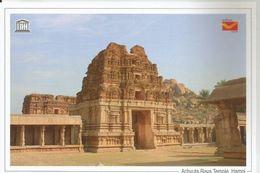 UNESCO World Heritage Site , Achyuta Raya Temple, Hampi, Monuments,World Heritage Monument, India Post