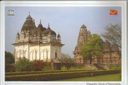 UNESCO World Heritage Site ,Khajuraho Group Of Monuments, Monuments,World Heritage Monument, India Post