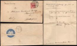 DR. 1892 Königliches Amtsgericht Dienstsache, TECKLENBURG 27.7.1892.