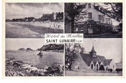 Saint Lunaire - Hôtel Des Mielles - Multivues (carte Publicitaire) - Saint-Lunaire