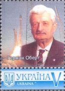 Ukraine 2017, Space, Constructor H. Olbert, 1v